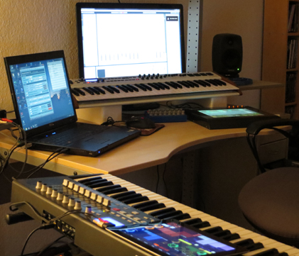 tonvibration studio setup 2013