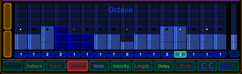 octave values
